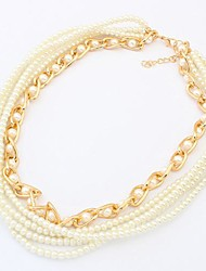 Women's Europe And The United States Joker Pearl Necklace