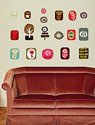 Createforlife ® Cartoon Photo Illustrazione dei bambini Camera dei bambini Wall Sticker Wall Art decalcomanie