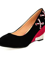 Damen Keilabsatz Wedges Pumps / Absatz-Schuhe (weitere Farben)