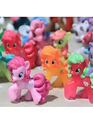 Mein kleines Pony losen Action-Figuren Spielzeug 4-6cm Pony Littlest Abbildung Geschenk für Kinder