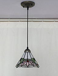 Lámpara Chandelier Tiffany Mini Floral - TAZEWELL