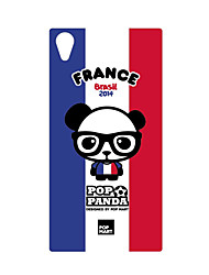 DDGD Creative 3D World Cup Theme Phone Case for SonyZ2-SJB16#France
