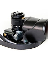 """Ever Ready"" Protective Leather Camera Case Bag Cover for Fujifilm XM1 Digital Camera"