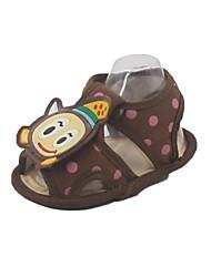 Coton pour enfants Appartements Heel premiers marcheurs Sandales mode avec la bande dessinée Chaussures de modèle