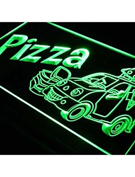 Pizza To Go Delivery Service Neon Light Sign