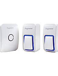 Wireless Doorbell Available for More than 20 years,Free Battery ,Two Transmitter One Receiver