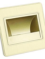 1 COB Light 1.5W PC Champagne Gold LED Wall Light IP65 Waterproof