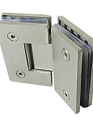 90мм × 115мм водонепроницаемые нержавеющей стали Для Безрамное Дверная петля