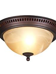 Ceiling Lamps , 1 Light , Retro Elegant Artistic Stainless Steel Plating MS-86243-3