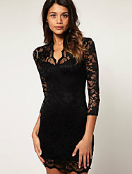 Women's Dresses , Lace Casual YDFTD