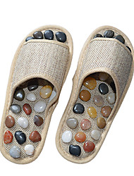 Natural Pebbles Foot Massage Slippers