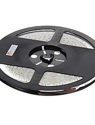 z®zdm 5m impermeável 48W 600x3528 branco fresco luz levou luz tira de SMD (DC 12V)