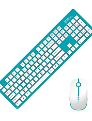 Fude G9300 Chiclet Mouse Wireless 2.4 GHz Kit Teclado