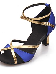 Satin upper Women's Dance Shoes Latin Shoes