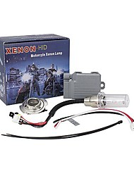 Merdia H6 35W 6000K 2400LM Blue White Light HID Headlamp for Motorcycle (DC 9~16V)