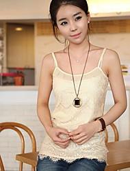 Hanyiou ® Cotton Código Big Feminina All-match Moda Pequeno Sling