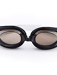 Unisex Silica Gel UV Protective Swimming Goggles - Black