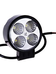 12W (4 * 3W Epistar) 840LM 6500K LED Car Light Work impermeável Flood Boca Lamp (DC9-32V)