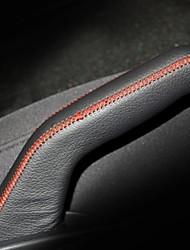 Xuji ™ Nero genuino freno a mano in pelle di copertura per Kia K2