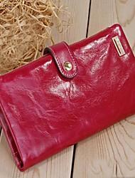 JCCS Brand Wallet  Genuine Leather Clutch  Purse (Linning color on random)