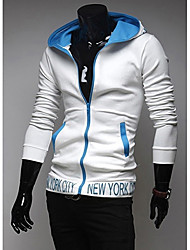 REVERIE UOMO Man's Thin Embroidery Hoodie Tops