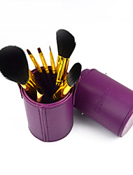Barrel Makeup  Brush Set  8pcs