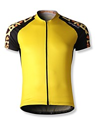 SPAKCT S14C14 100% Polyester Breathability + Quick Dry  Men's Short Sleeve Cycling Jersey