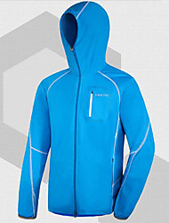 AMADIS Azul Poliéster Anti-UV de manga larga chaqueta de Pesca