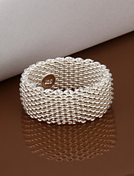 MINT 925 Silver Net  Ring