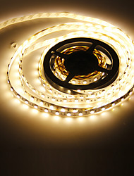 5M 72W 300x5050SMD 3000-3500K lumière blanche chaude de lampe de bande de LED (12V DC)