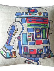 The Robot Decorative Pillow Cover