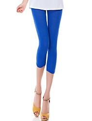 Women's Modal Cropped Leggings Color