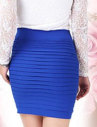 Women's Pleatd Mini Skirt