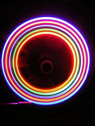 Fietsen 5 LED 7 Mode Bike Wheel Spoke Valve LED Light