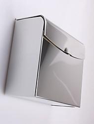 Chrome grosso Aço inoxidável impermeável WC Box Tissue Acessórios do banheiro