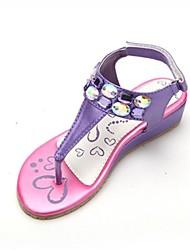 Talon T-Strap Sandales filles avec Crystal Chaussures (Plus colors)