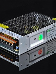 60W 12V 5A Fonte de alimentação Driver / Interruptor para Fita LED - Prata