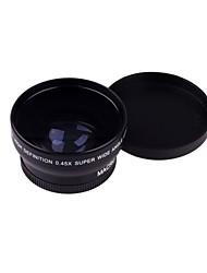 52MM 0.45X Широкоугольный объектив макро-объектив Сумка для Nikon D5000 D5100 D3100 D7000 D3200 D80 D90