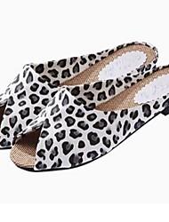 Mulheres de salto Plano Chinelos de slides Shoes (mais cores)