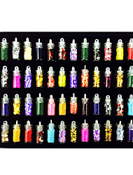 48PCS Mixs style Décorations Nail Art Costume