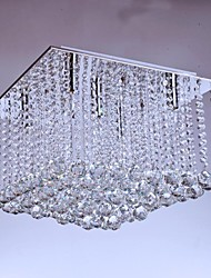 Ceiling Lamps , 5 Light , Crystal Artistic Stainless Steel Plating MS-86192