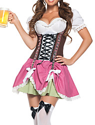 Cosplay Costumes / Party Costume Halloween Sweet Beer Girl Women's Oktoberfest Costume (One Size)