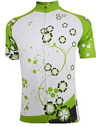 GETMOVING Cycling Jersey Women's Short Sleeve Bike Breathable Quick Dry Jersey Tops Spandex Polyester Summer Camping / Hiking Cycling/Bike