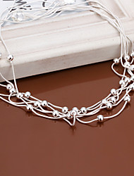 Vilin Women's Silver  Necklace
