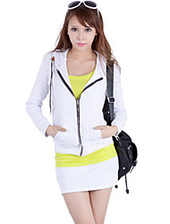 Women's Suits , Cotton Casual Mineeor