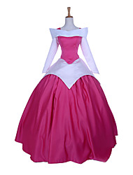 Sleeping Beauty Princess Aurora Fuschia Polyester Women's Halloween Costume