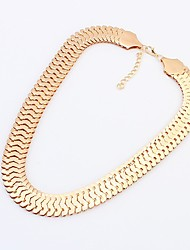 Before Women's Metal Chain Necklace