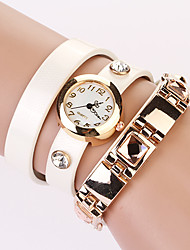 Koshi 2014 Fashion PU Round Watch