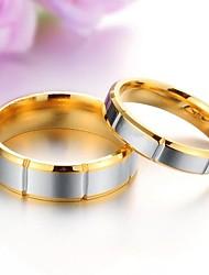 Anéis Casamento / Pesta / Diário / Casual Jóias Aço Titânio Casal Anéis de Casal5 / 6 / 7 / 8 / 9 / 10
