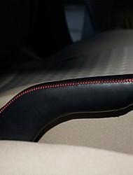XuJi ™ Black Genuine Leather Handbrake Cover for Kia Rio
